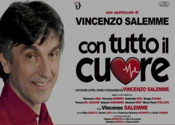 """Assdintesa Campania: Vincenzo Salemme """"Con tutto il cuore""""- Teatro Diana 27 febbraio 2020"""