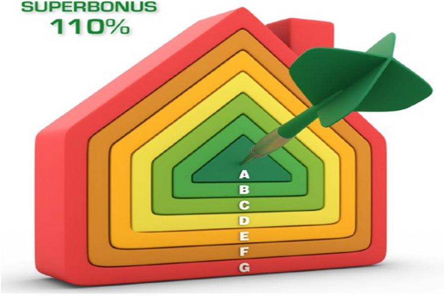 Superbonus freccia